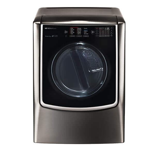 LG SIGNATURE 9.0 Mega Capacity TurboSteam Electric Dryer Product Image